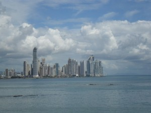 skyline di Punta Pacifica a Panama City